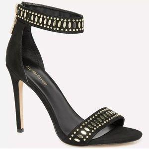 NIB Bebe Zeeya Studded Embellished Sandals Heels